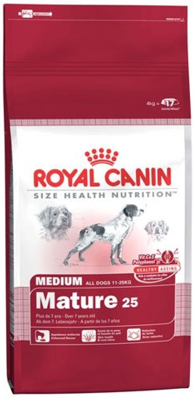 Royal Canin Medium Mature 25 4kg, feed, pet food, dog food dry