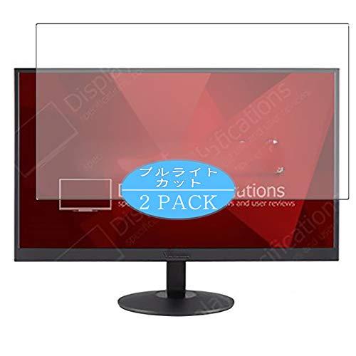 VacFun 2 Piezas Filtro Luz Azul Protector de Pantalla Compatible con ViewSonic VA2403-h / VA2403-mh 23.6' Display Monitor,...