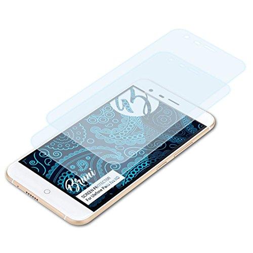 Bruni Schutzfolie kompatibel mit Ulefone Paris Arc HD Folie, glasklare Bildschirmschutzfolie (2X)