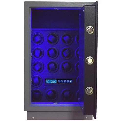 Safewinder 18 PLUS Uhrenbeweger & Safe für 18 Armbanduhren