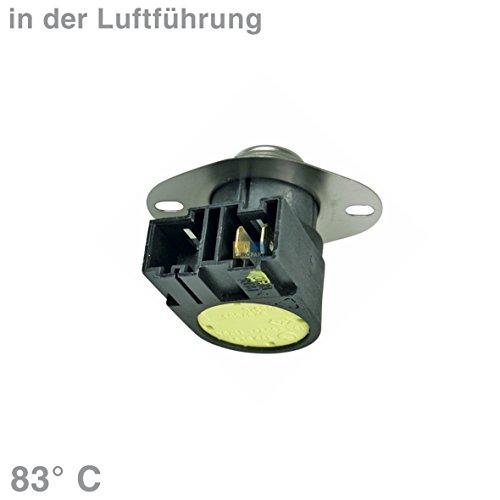 Whirlpool Bauknecht 481228208008 ORIGINAL Klixon Öffner Temperaturbegrenzer Thermostat Sicherheitsthermostat Wäschetrockner Trockner Trocknerautomat auch Ignis