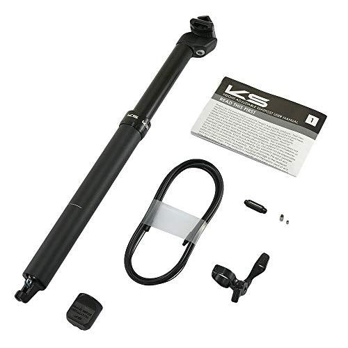 Kind Shock KS ETEN-I Road Version 31,6 x 440 mm Tige de selle à distance avec compte-gouttes 125 mm, VH1995
