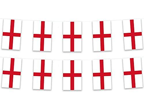 LIHENG Banderas rectangulares de poliéster de 5 m
