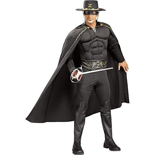 Déguisement - Zorro - Taille Unique