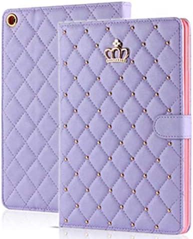 Topwin Crown Design Case for iPad 2 3 4 Case Bling Cute Elegant Premium PU Leather Smart Auto product image