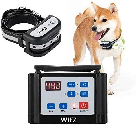 WIEZ Wireless Dog Fence Electric & Training Collar