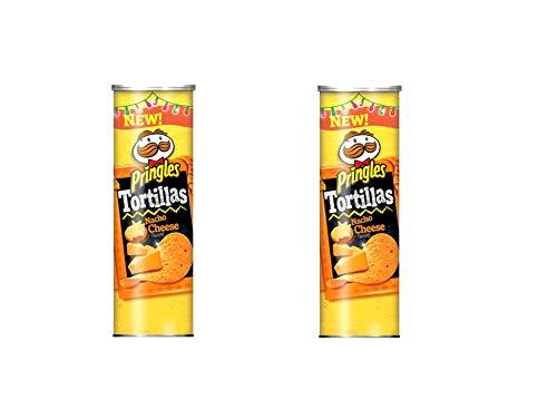 Chips de maíz Tortilla Nacho (sabor a queso), 160 g - Pack de 2