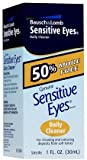 Bausch and Lomb Sensitive Eyes Daily Cleaner -- 1 oz (Quantity of 4)