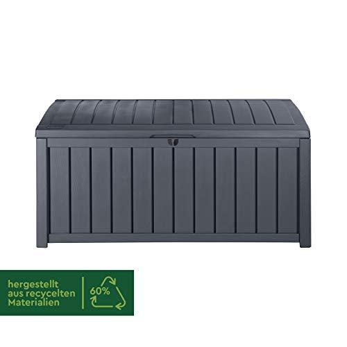 Keter Kissenbox Glenwood, grau, 390L, 128cm - 2