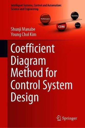 Coefficient Diagram Method for Control System Design Front Cover