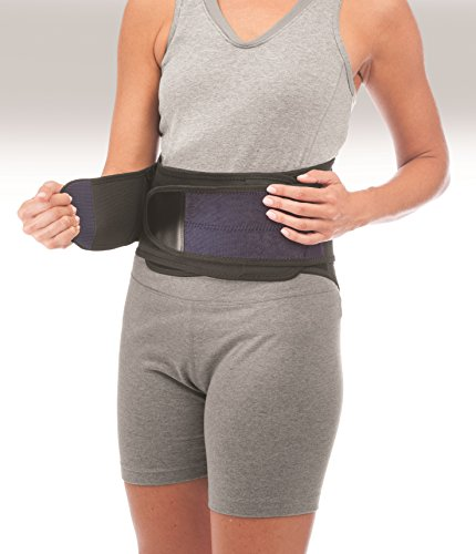 Mueller 255 Lumbar Support Back Brace with Removable...