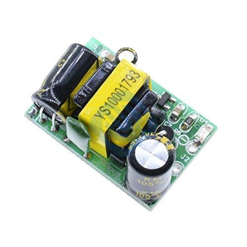 ZTSHBK DC 9v 500mA Aislamiento Precisión Fuente de alimentación Convertidor Buck Módulo de Placa adaptadora Reductora para protección de Cortocircuito Arduino