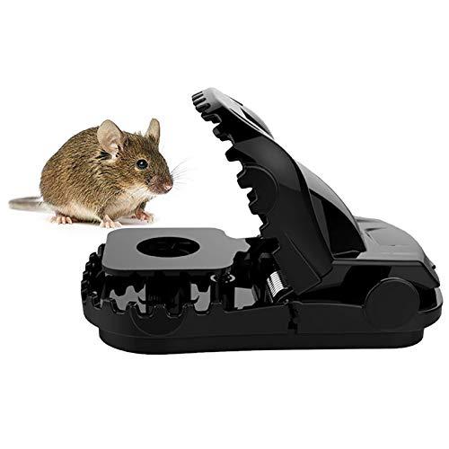 QINQI Reutilización de Cazadores de Roedores Trampas para Ratones para Interiores Y...