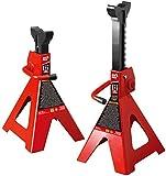 Steel Jack Stands: 2 Ton Capacity, 1 Pair