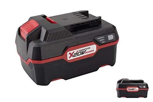 Batería de iones de litio Parkside 4Ah Pap 20 A3 20 voltios - Compatible con todas las herramientas del equipo Parkside 20v X