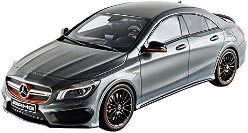 GT Spirit- gt722 Mercedes-Benz CLA 45 G Orange Art Edition 2014 Echelle 1 18 Grau Metall