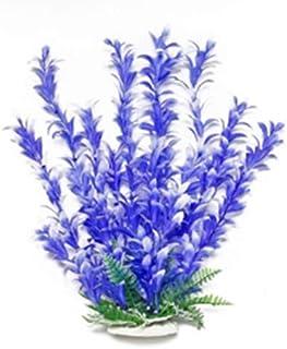 "AquaTop Aquatic Supplies 003506 Bacopa-Like Aquarium Plant Blue/White, 12"""