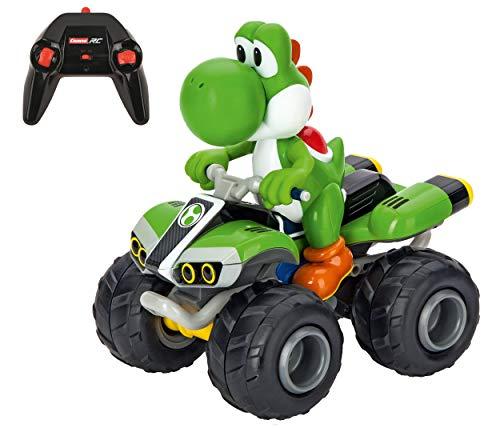 Carrera RC Nintendo Mario Kart 2.4 GHz Radio Remote Control Toy Car Vehicle - Yoshi Quad