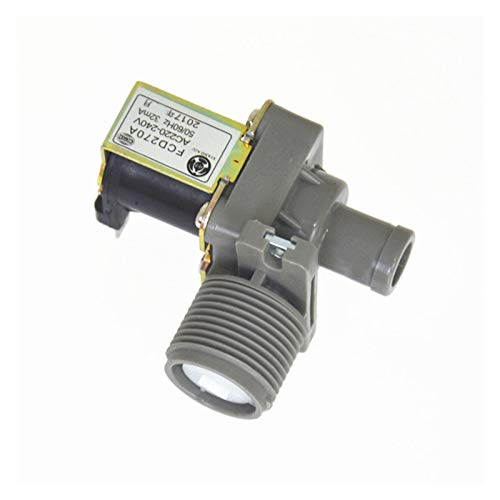 Das elektromagnetische Ventil Elbow rechtwinklig Außengewinde Nylon Plastikkörper for Wasser Kunststoff-Magnetventil Waschmaschine Einlassventil FCD-270A Industriebedarf