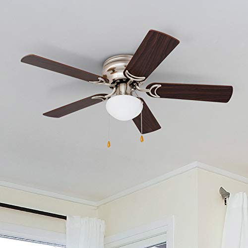 Prominence Home Ceiling Fan-Satin Nickel