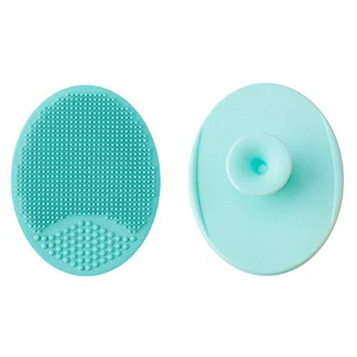 Cepillo Facial de Silicona Limpiador Antideslizante Exfoliator Almohadilla de Fricción Cuidado de la Piel - 2 Pack