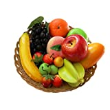 12 Kinds of Artificial Fruits Pack,...