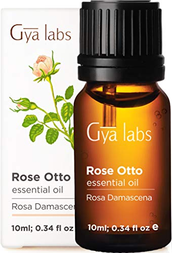Olio essenziale di rosa Otto - Un rimedio lenitivo per levigare i segni dell'invecchiamento (10 ml) - Olio di rosa puro al 100% di grado terapeutico