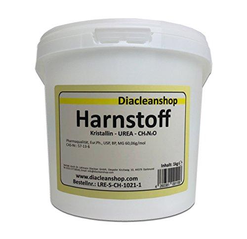 Harnstoff UREA kristallin 1000g - min 99,6% - Pharma-Qualität - 1kg