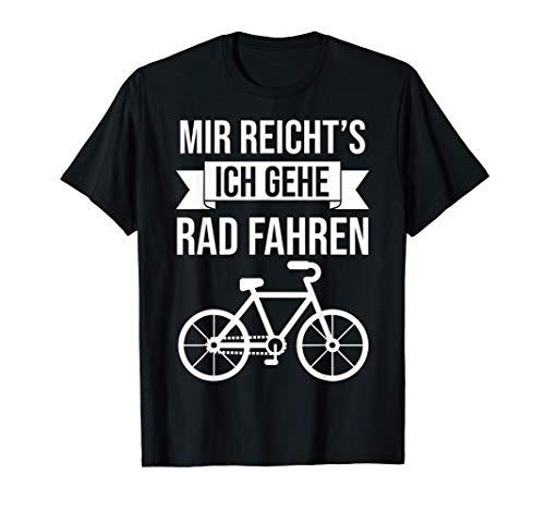 Radfahrer Fahrradfahrer Radler Spruch Herren Damen Fahrrad T-Shirt