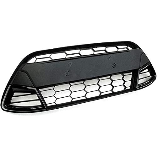 ZHFF Auto Rejillas Frontales, para Ford Fiesta MK7 2008 2009 2010 2011 2012 2013 Car Reemplazo Frente Bumper, Riñón Central Delantera, Coche Front Grilles Accesorios para el Cuerpo de Estilo