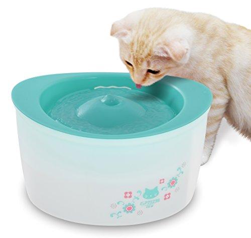 ジェックス ピュアクリスタル 全猫用 ガーリーグリーン 【フィルター式(循環式)給水器】 [並行輸入品]
