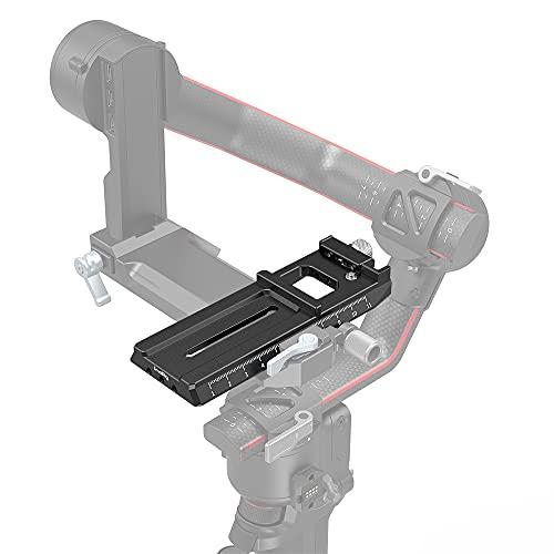 SMALLRIG Quick Release Plate Schnellwechselplatte mit Arca-Swiss für DJI RS 2/RSC 2 - 3061
