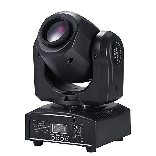 Lixada DMX512 Gobo Moving Head LED Bühnenlicht 8 Farben ändern Spotlicht G2A3