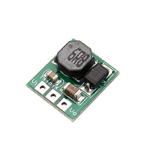 Cheng cheng Módulo de fuente de alimentación, 20 unidades, 6 W, 2,8 V, 3,3 V a 3,7 V DC-DC Step Up Boost Convertidor para batería de litio 18650 403040 Li-Po Li-ion Li-ion