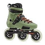 Rollerblade Patines Twister Edge Edition #2, Adultos Unisex, Verde Oliva/Naranja, 37