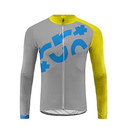 Uglyfrog Maglia Ciclismo Boby Tuta Manica Lunga Bretelle da MTB per Uomo MCP06