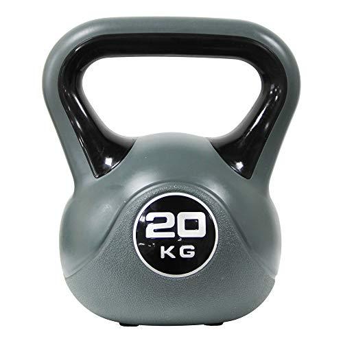 POWRX Kettlebell 20 kg - Idéal pour la «Remise en...