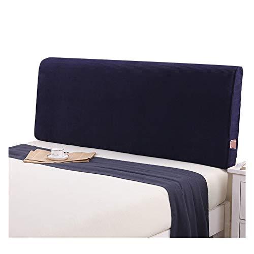 WENZHE hoofdbord kussen voor bedden bed rugkussen rugleuning bed achterwand wasbaar zachte val thuis stof grote rugleuning, geen hoofdeinde, 5 kleuren (kleur: A, grootte: 150x60x10cm)