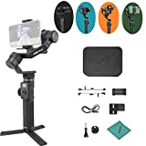 <span class='highlight'><span class='highlight'>FeiyuTech</span></span> G6 Max 3-Axis Handheld Vlog Gimbal Stabilizer Support Zoom/Focus Horizontal Vertical Shooting Reverse Charging with OLED Screen Splash-proof Design for ILDC Cameras Pocket Video Cameras