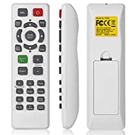Full Function Remote Control for BenQ Projector. No Programming or Pairing Needed. Automatically Sync to Your Projector. 2 x AAA Batteries Required (NOT Included). Energy-saving Design for Long Time Usage. Easy to Operate Out-of-box. 30 Days Money Ba...