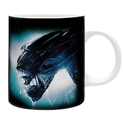 Aliens - Tasse - Xenomorph - Kaffeebecher - Logo - Mug - keramik - Geschenkbox