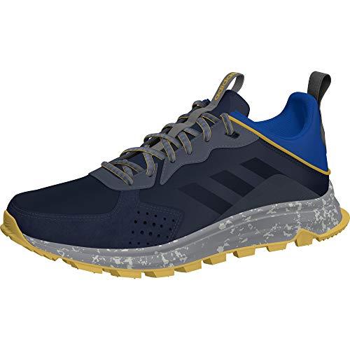 Tênis de corrida masculino Adidas Response Trail, Trace Blue / Core Black / Onix, 6.5