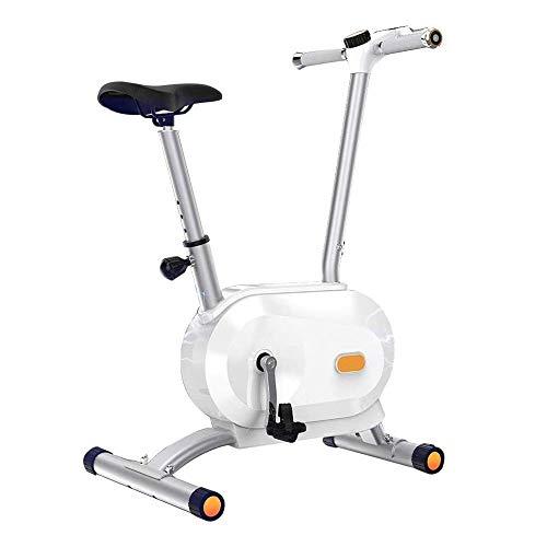 Cubierta Bici del Ciclo de la Bicicleta estática Full-Wrap Segura Volantes silenciosa Correa de transmisión con Sistema de Resistencia for el hogar Cardio Bicicleta de Entrenamiento