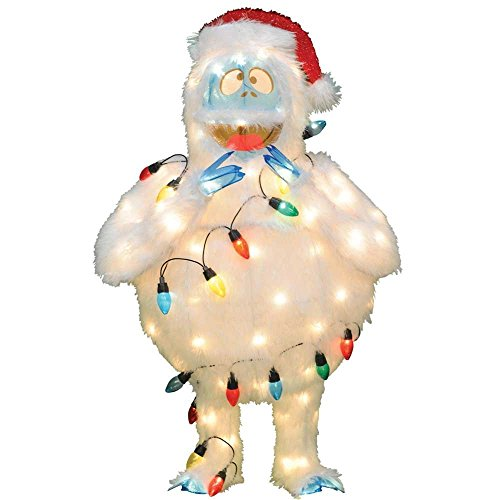 "Amazon - Pre-Lit 32"" Rudolph The Red-Nosed Reindeer Bumble Christmas Yard Decoration $58.08"