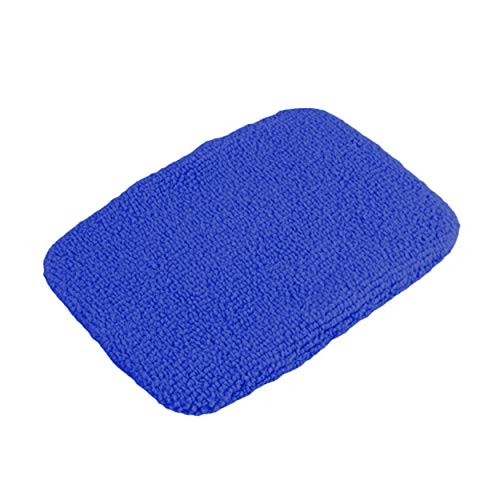 Tree-de-Life 1pc Haushaltswitwe Mikrofasertuch Autowaschbürsten Karosserie Fensterglas Scheibenwischer Reinigungswerkzeug Kit Windschutzscheibenreiniger - dunkelblau