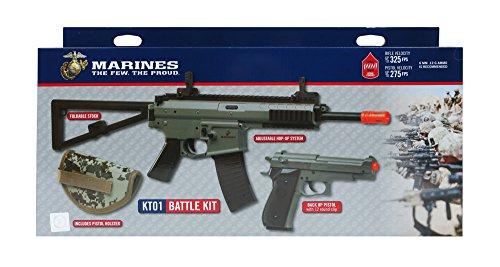U.S. Marines Kit Airsoft Rifle and Pistol Battle Kit (Single...