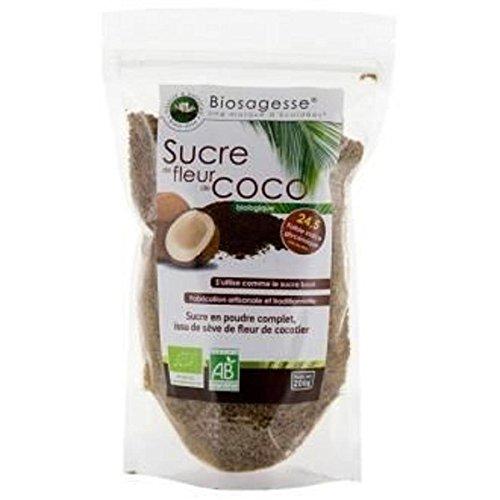 BIOSAGESSE Sucre De Coco 200G Bio -