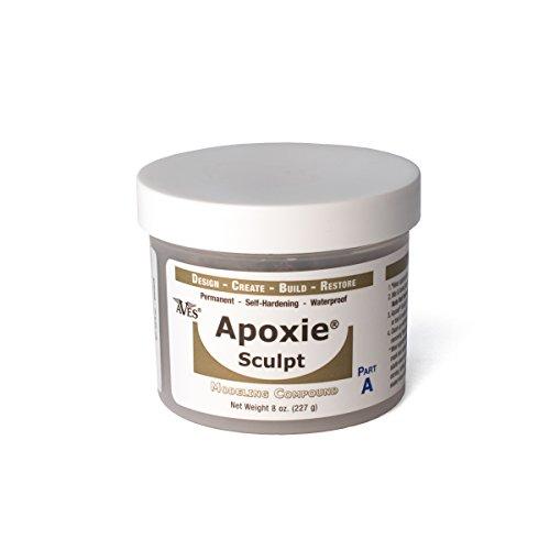 Apoxie Sculpt - 2 Part Modeling Compound (A & B) - 1 Pound, Bronze