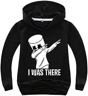 Spring Autumn DJ Marshmellow Hoodie Boys Sweatshirt Toddler Girl Sweatshirt Christmas Costume Outfit Baby Clothes