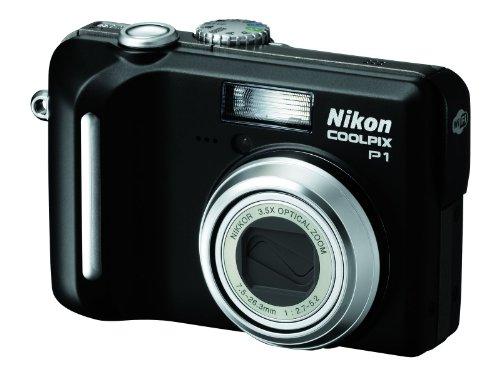 Nikon Coolpix P1 Digitalkamera (8 Megapixel, Wi-Fi) in schwarz